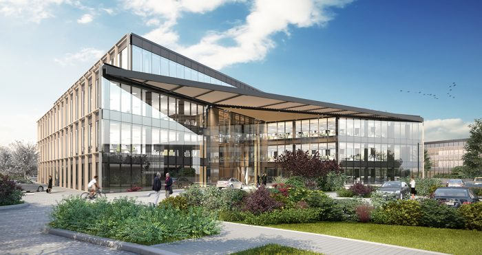 Plot 12 at The Oxford Science Park main exterior low res
