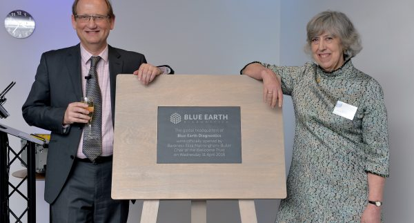 Blue Earth Diagnostics opens new headquarters in Oxford - Press Release