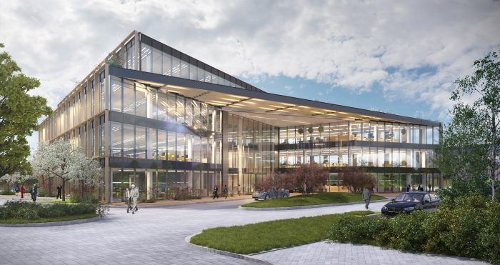 Proposed new building at The Oxford Science Park 61500 sq ft