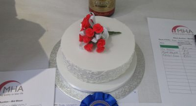 Valentine's Day cake competition - second place