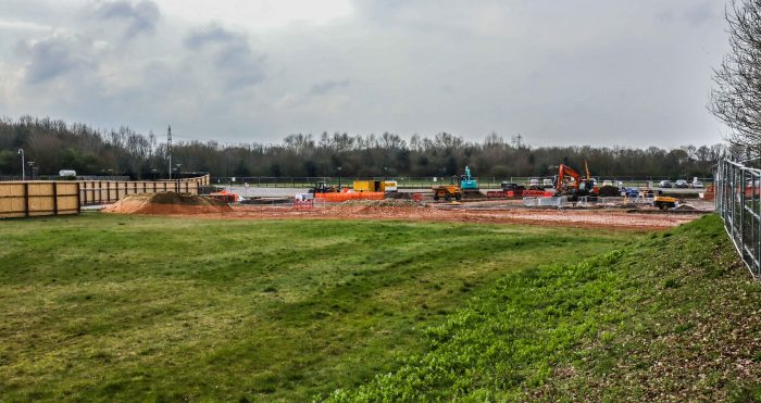 Construction update at The Oxford Science Park
