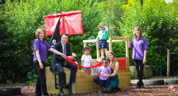 Pirate ship launches at The Oxford Science Park
